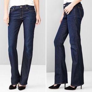 Gap Perfect Boot Dark Wash Denim Jeans